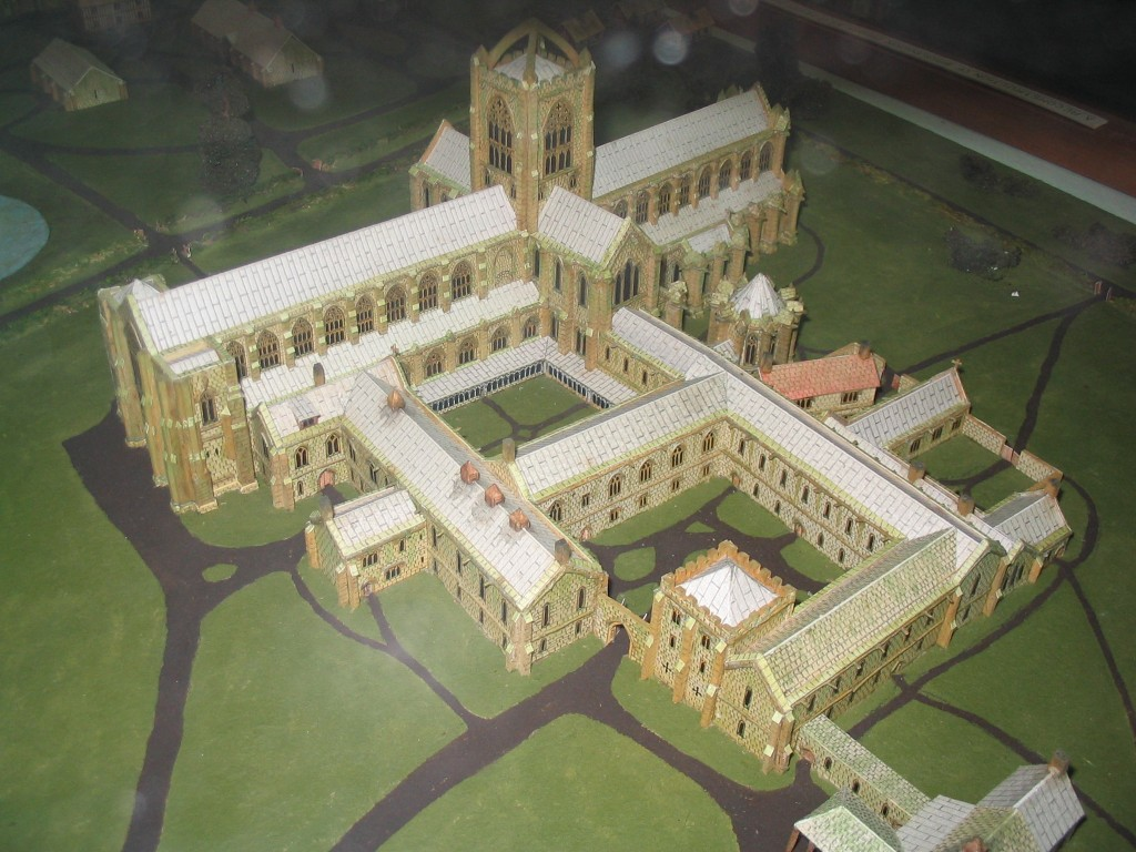 Bridlington Priory - Model