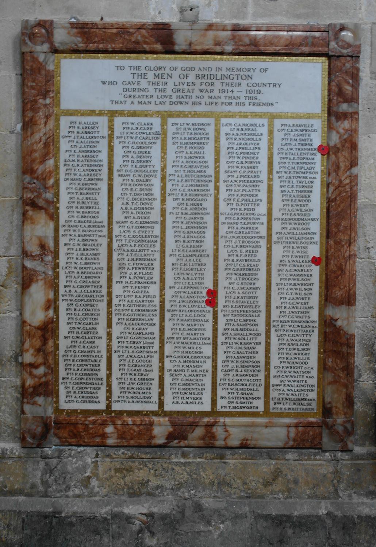 Memorial - World War I