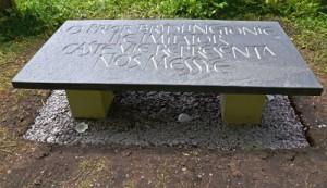 St John of Bridlington Ledger Stone