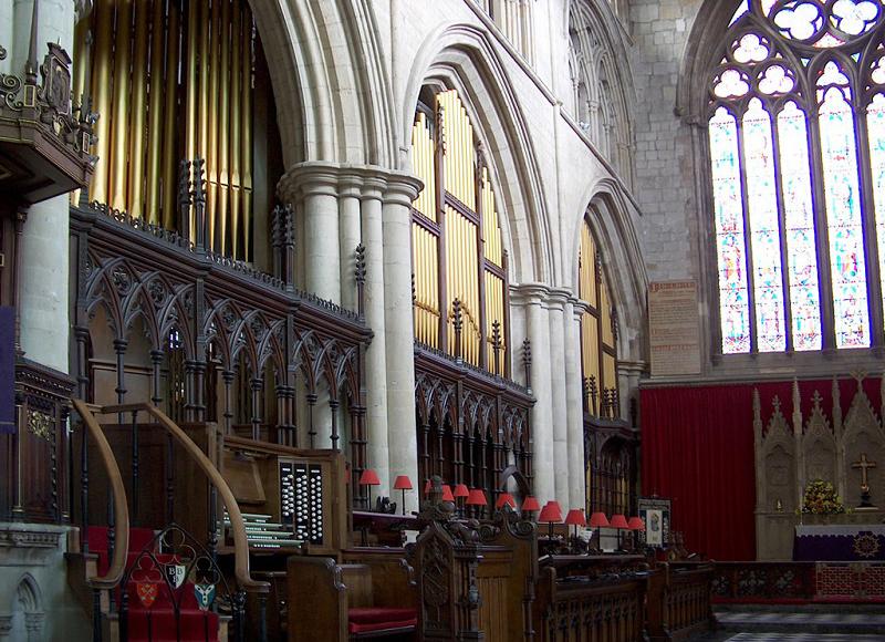 Organ Chancel Case