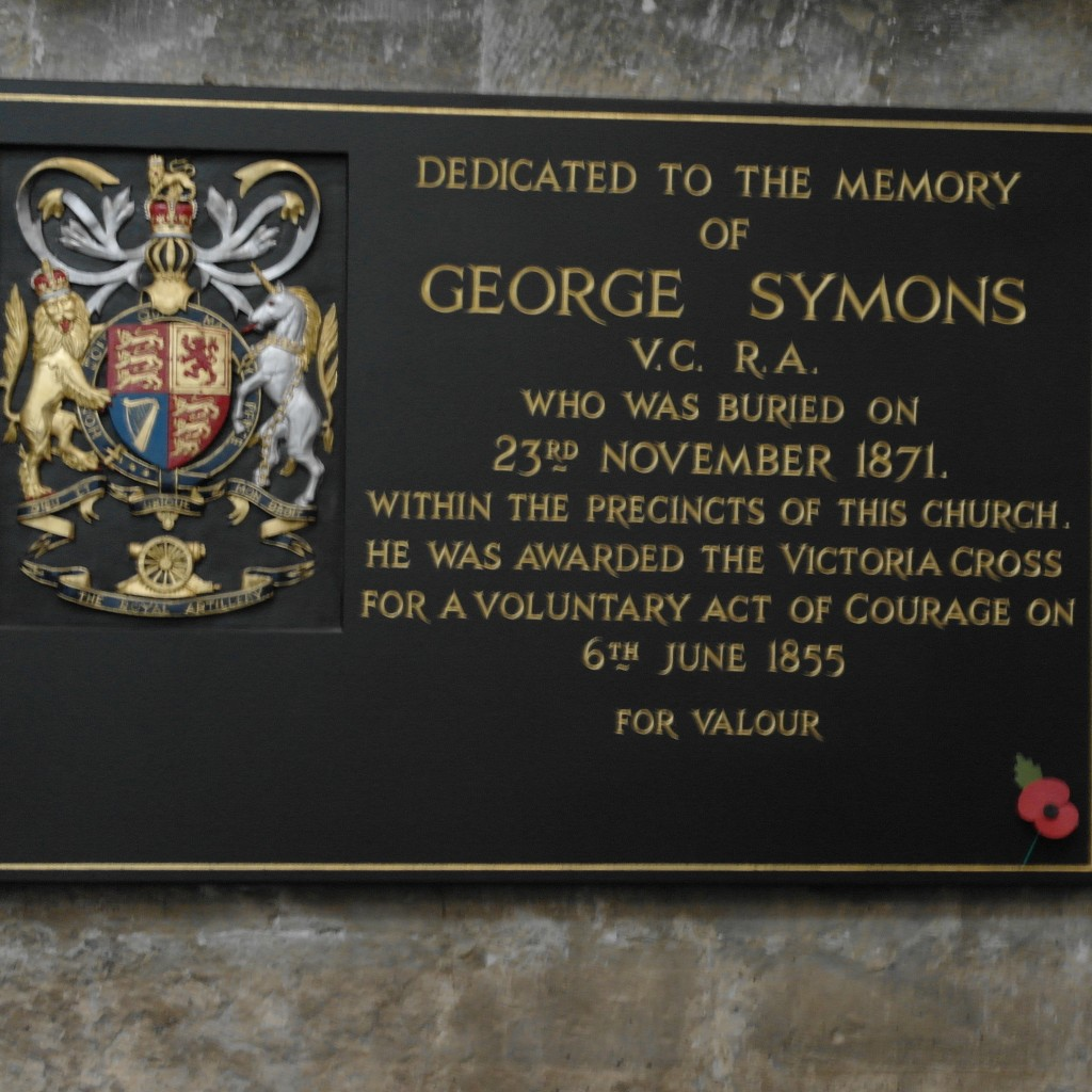 George Symons V.C.