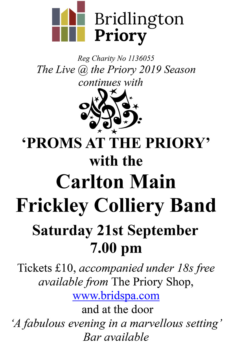 Proms at the Priory 2019